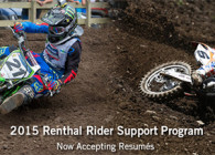 Renthal Rider Support Program Now Open