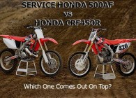 CR500 vs CRF450