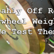 Steahly Off Road Flywheel Weight Review