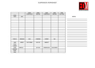 Suspension Worksheet