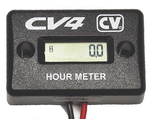 Hour Meter Made In Usa : New hour meter from cv products